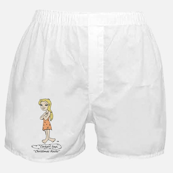 Christmas Rocks Boxer Shorts