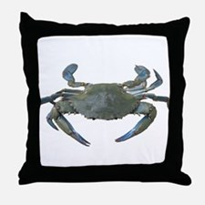 Chesapeake Bay Blue Crabs Throw Pillow