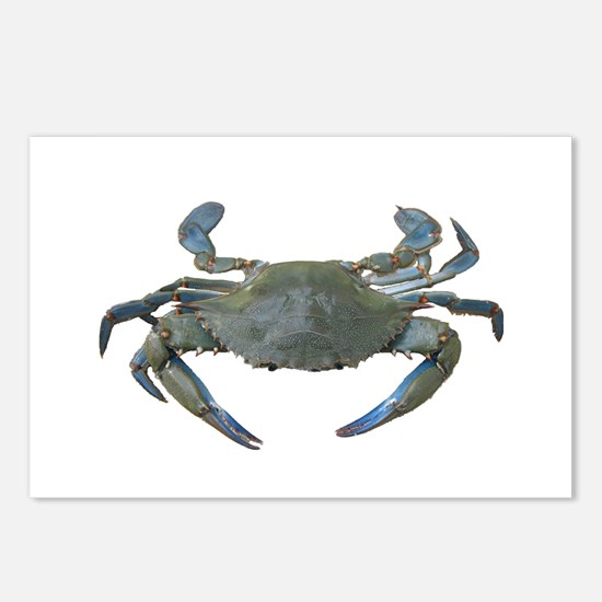 Chesapeake Bay Blue Crabs Postcards (Package of 8)