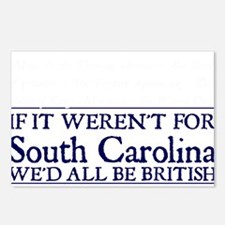 SC BRITISH Postcards (Package of 8)