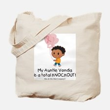 breast-cancer-total-knockout Tote Bag