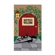 reptileswelcome5x8 Rectangle Car Magnet