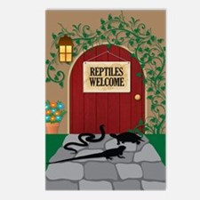 reptileswelcome5x8 Postcards (Package of 8)