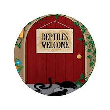 """reptileswelcome9 3.5"""" Button"""