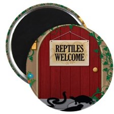 reptileswelcome9 Magnet