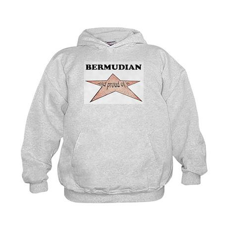 Bermudian and proud of it Kids Hoodie