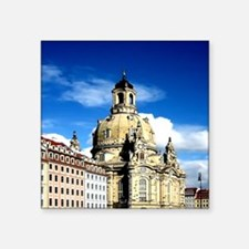 dresden frauenkirche history and city Sticker