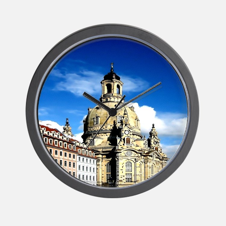 dresden frauenkirche history and city Wall Clock
