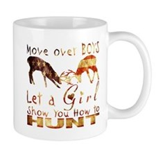 GIRL DEER HUNTER USA Mugs