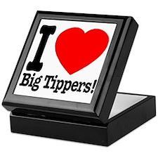 ilove_big_tippers_transparent Keepsake Box