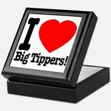 ilove_big_tippers_transparent Keepsake Box