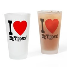 ilove_big_tippers_transparent Drinking Glass
