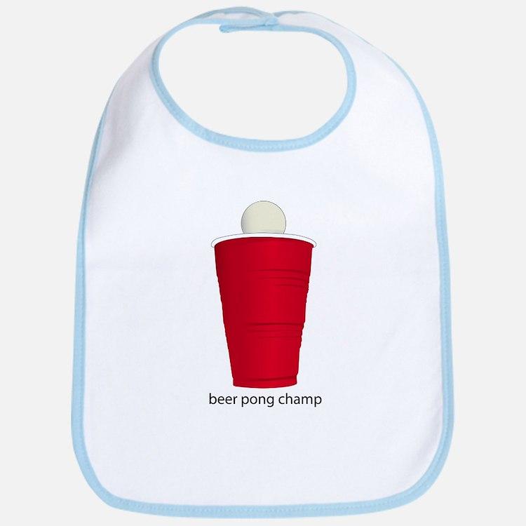 Beer Pong Champ Bib