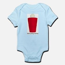 Beer Pong Champ Infant Bodysuit