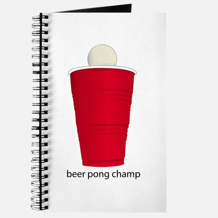 Beer Pong Champ Journal