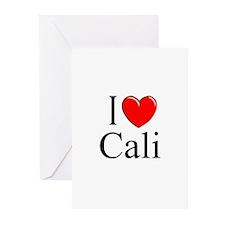 """I Love Cali"" Greeting Cards (Pk of 10)"