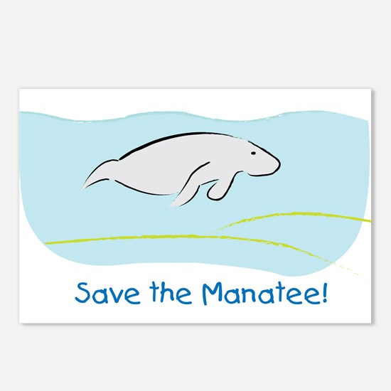 Save the Manatee! Postcards (Package of 8)