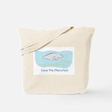Save the Manatee! Tote Bag