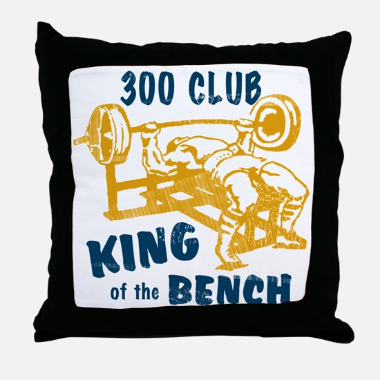 bench_kob_300tran Throw Pillow
