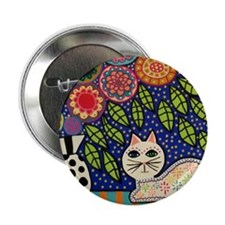 "White House Cat 2.25"" Button"