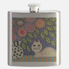 White House Cat Flask