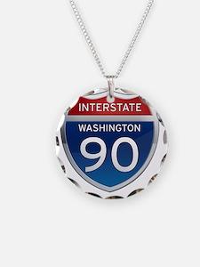 Interstate 90 - Washington Necklace