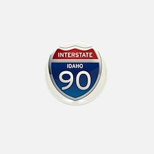 Interstate 90 - Idaho Mini Button