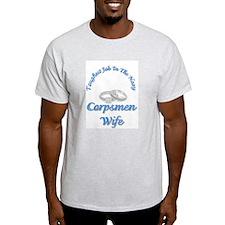 corpsmen wives Ash Grey T-Shirt