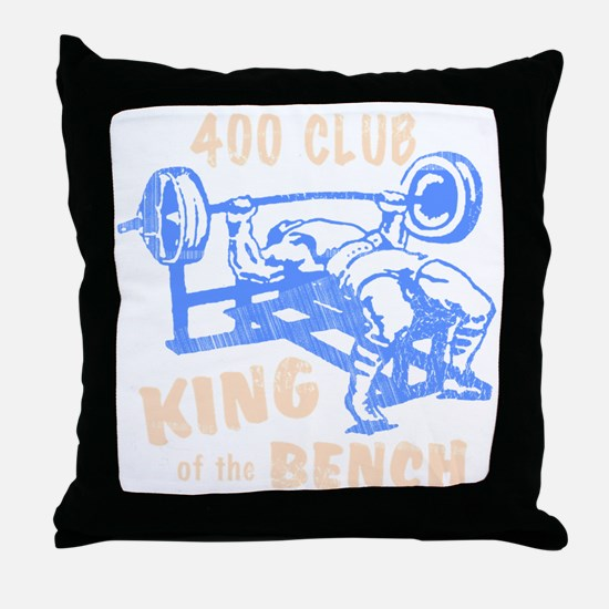 bench_kob_400tran_rev Throw Pillow