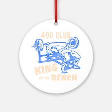 bench_kob_400tran_rev Round Ornament