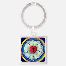 Luther Seal Keychain Square Keychain
