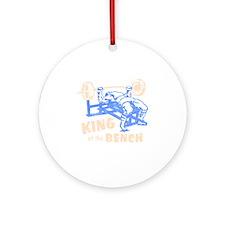 bench_kob_tran_rev Round Ornament