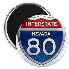 Interstate 80 - Nevada Magnet
