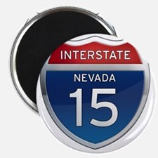 Interstate 15 - Nevada Magnet