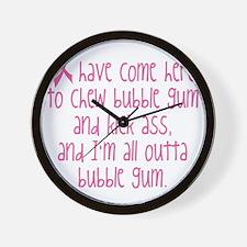 BC Kick Ass Wall Clock