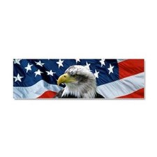 Funny Eagle Car Magnet 10 x 3
