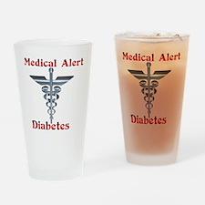 Medical Symbol Diabetes Medical Ale Drinking Glass