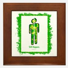 shifthappensboarder01 Framed Tile