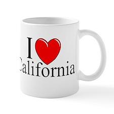 """""""I Love California"""" Small Mug"""
