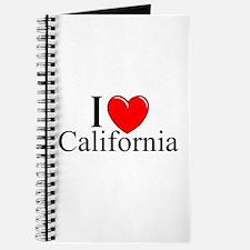"""I Love California"" Journal"