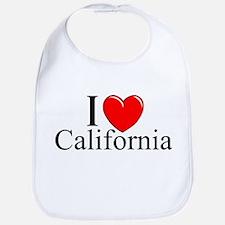 """I Love California"" Bib"