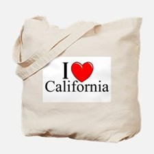 """I Love California"" Tote Bag"