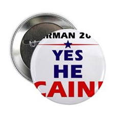 "Yes He Cain 2.25"" Button"