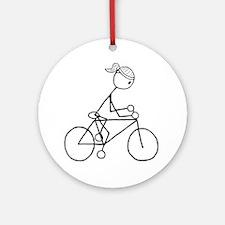 biker5.gif Round Ornament