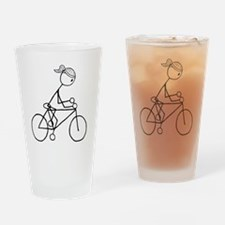biker5.gif Drinking Glass