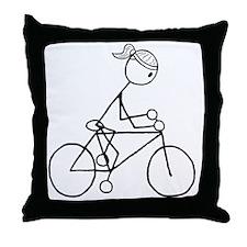 biker5.gif Throw Pillow