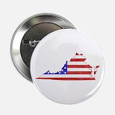 """Virginia Flag 2.25"""" Button"""