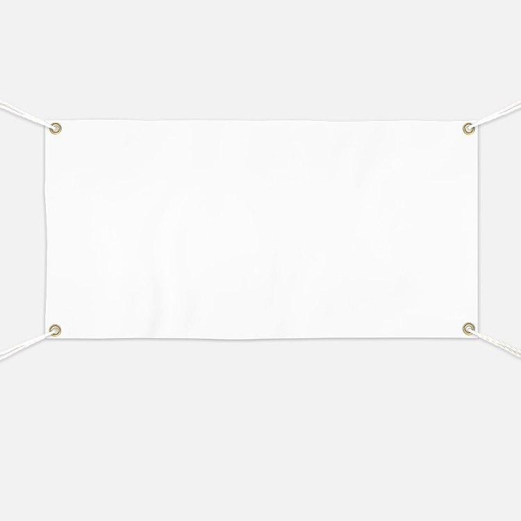 Plain blank Banner
