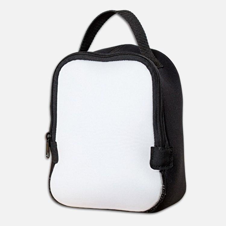 Plain blank Neoprene Lunch Bag