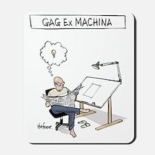 Gag ex Machina Logo II Mousepad
